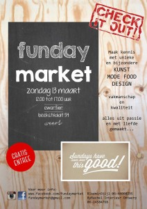 Flyer Funday Market 2016